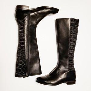 Cole Haan Elverton Quilted Leather Knee Boot